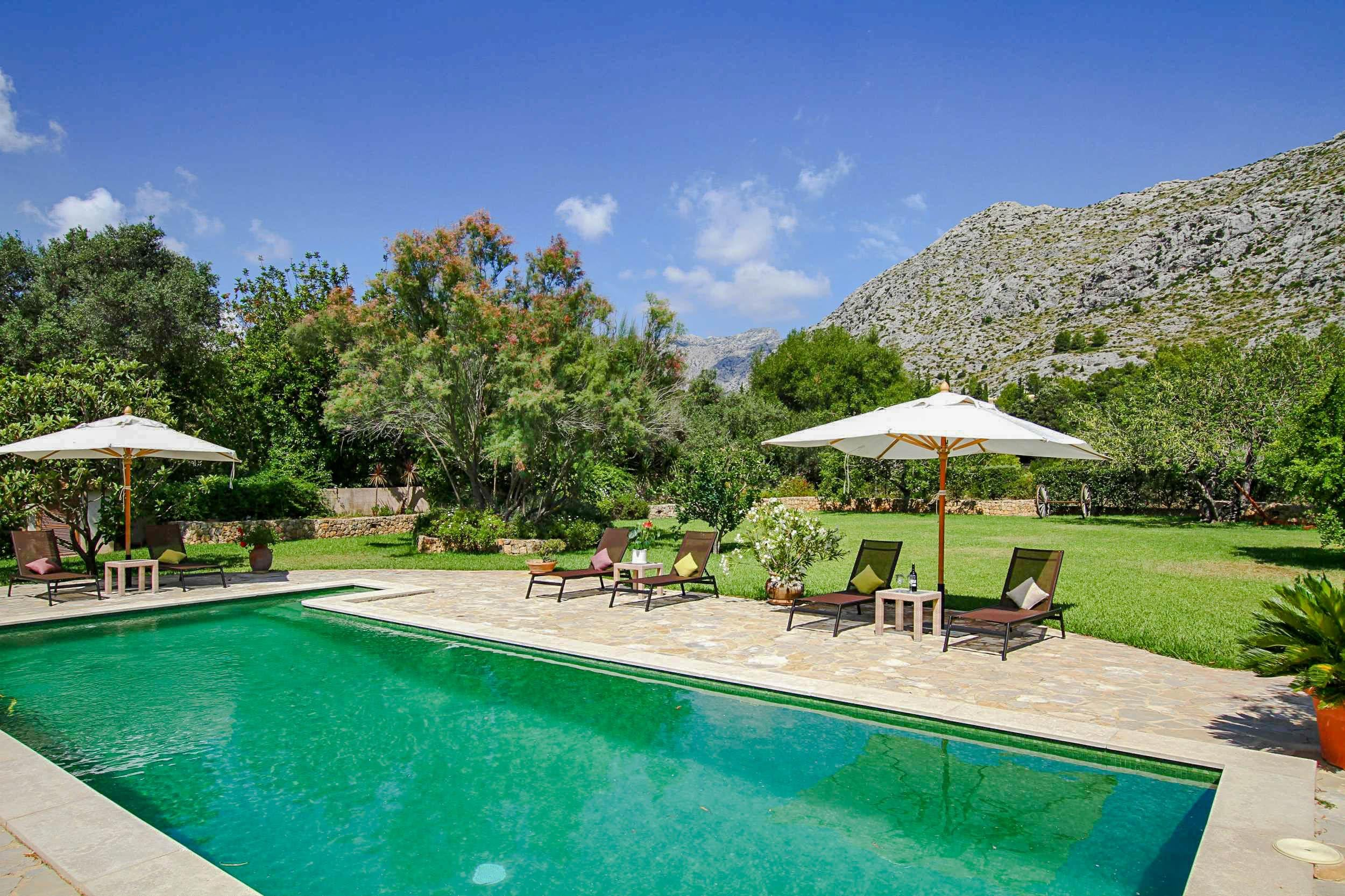 Property Image 1 - Beautiful Countryside Villa with Mediterranean-inspired terraces and Gardens