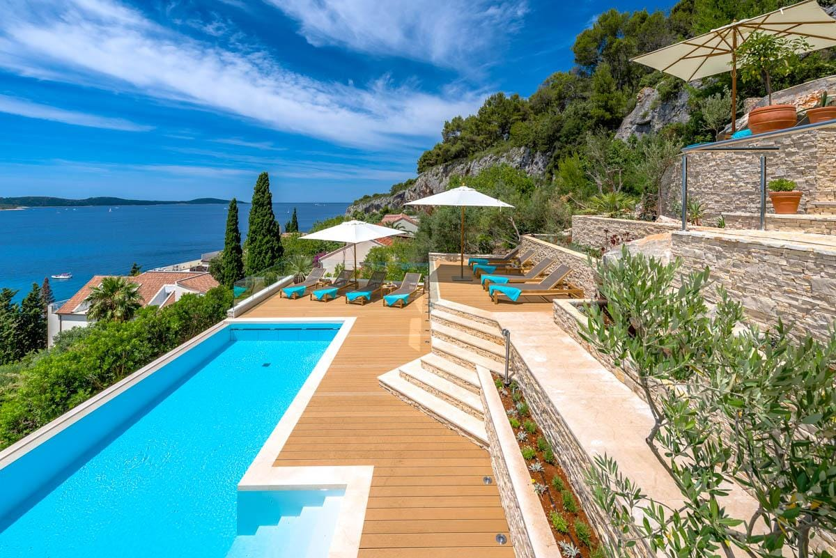 Property Image 1 - Very Large Hvar Island Villa for Family and Friends