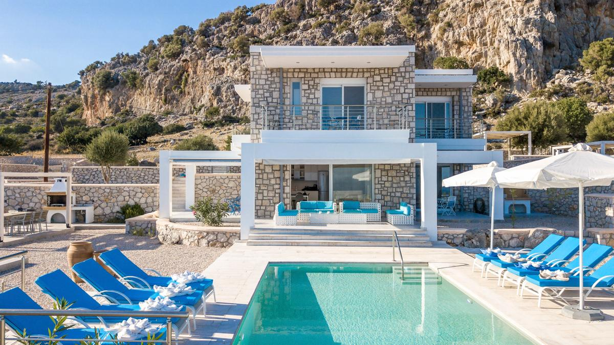 Property Image 1 - Grecian 4 Bedroom Villa Escape with Most Enchanting Views