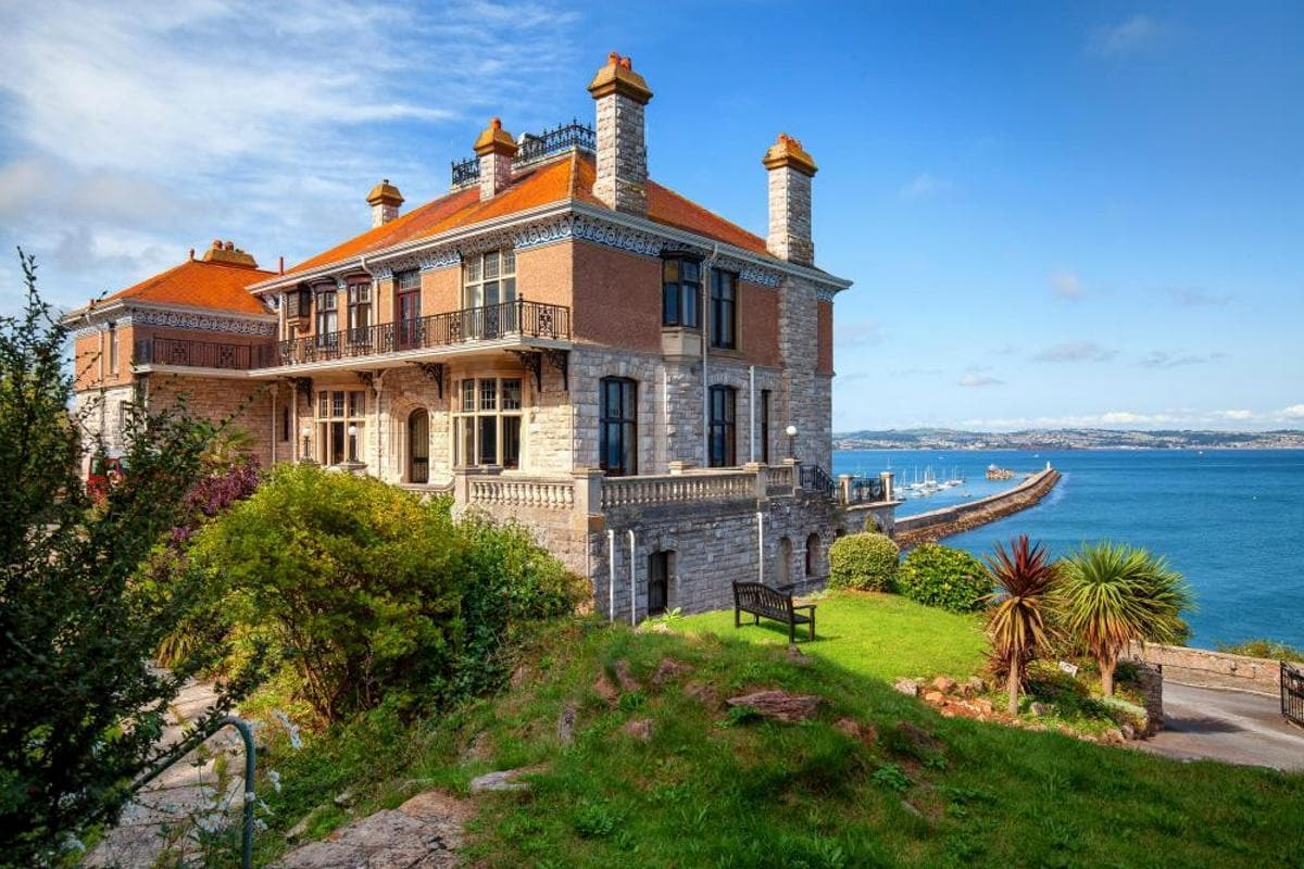 Property Image 1 - Amazing Edwardian Manor Home with Beautiful Sea Views Overlooking Brixham Harbour