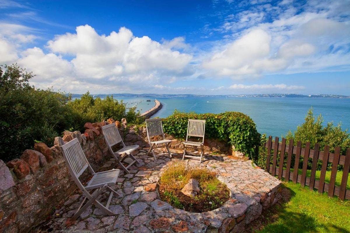Property Image 2 - Amazing Edwardian Manor Home with Beautiful Sea Views Overlooking Brixham Harbour