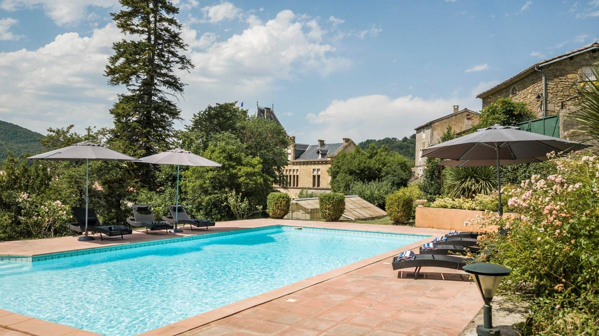 Property Image 1 - Historic five bedroom Chateau at Occitanie
