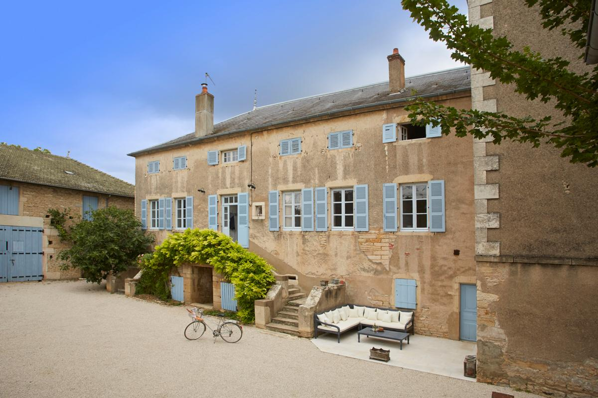Property Image 2 - Handsome Manor Home in Burgundy