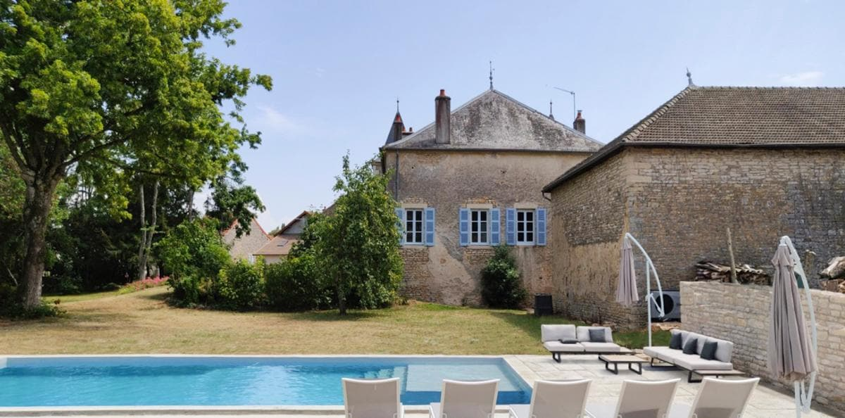 Property Image 1 - Handsome Manor Home in Burgundy