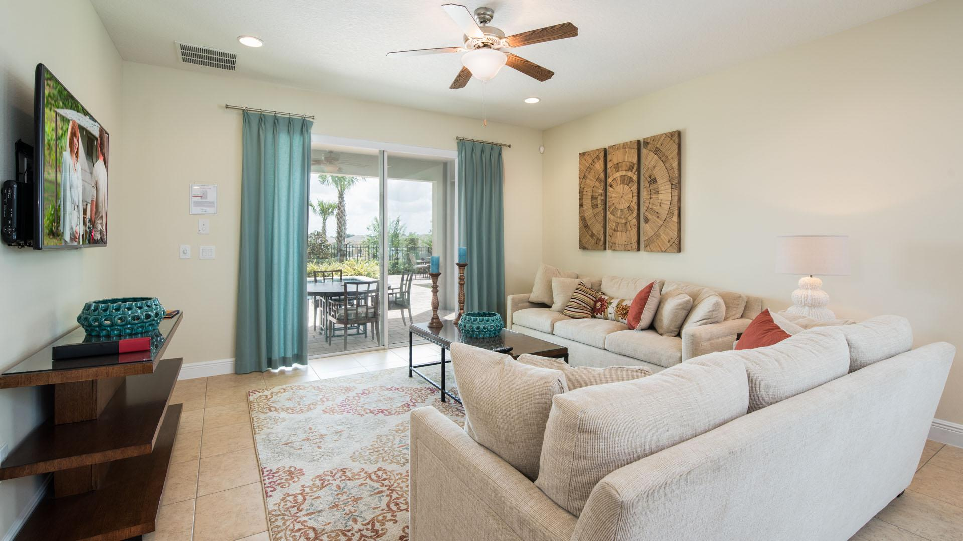 Property Image 1 - Bright Home with Water Park Access near Disney World