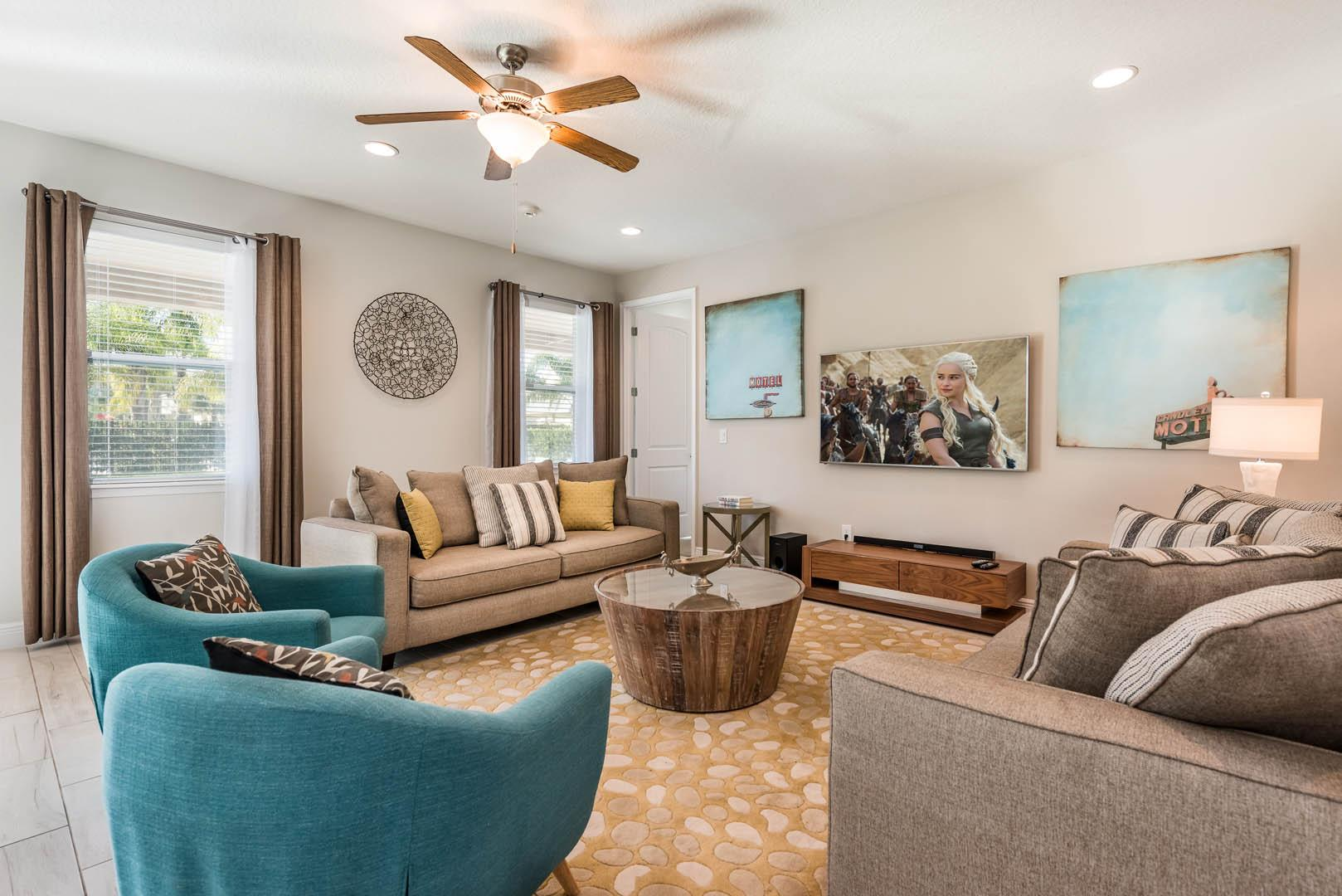 Property Image 2 - Stylish Home with Themed Game Room near Disney