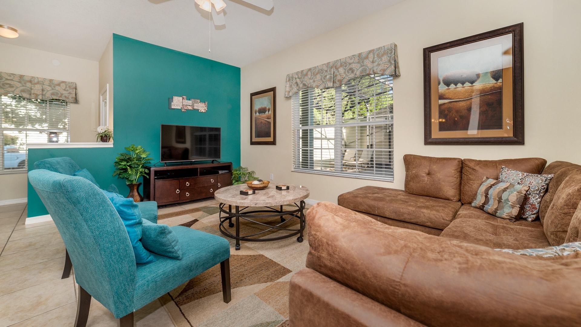 Property Image 2 - Pleasant Family Friendly 5-Bedroom Townhome Near Disney