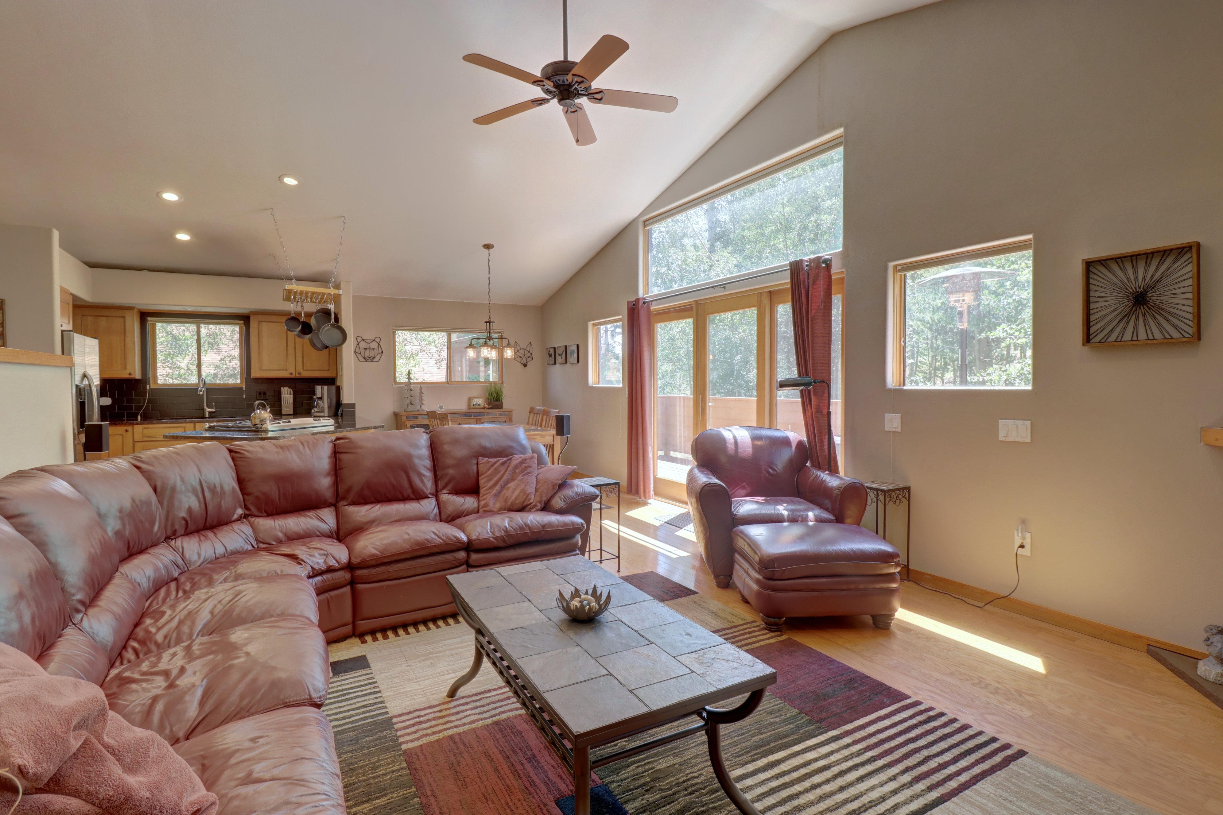 Property Image 1 - Open Concept Silverthorne Duplex with Mountain Views