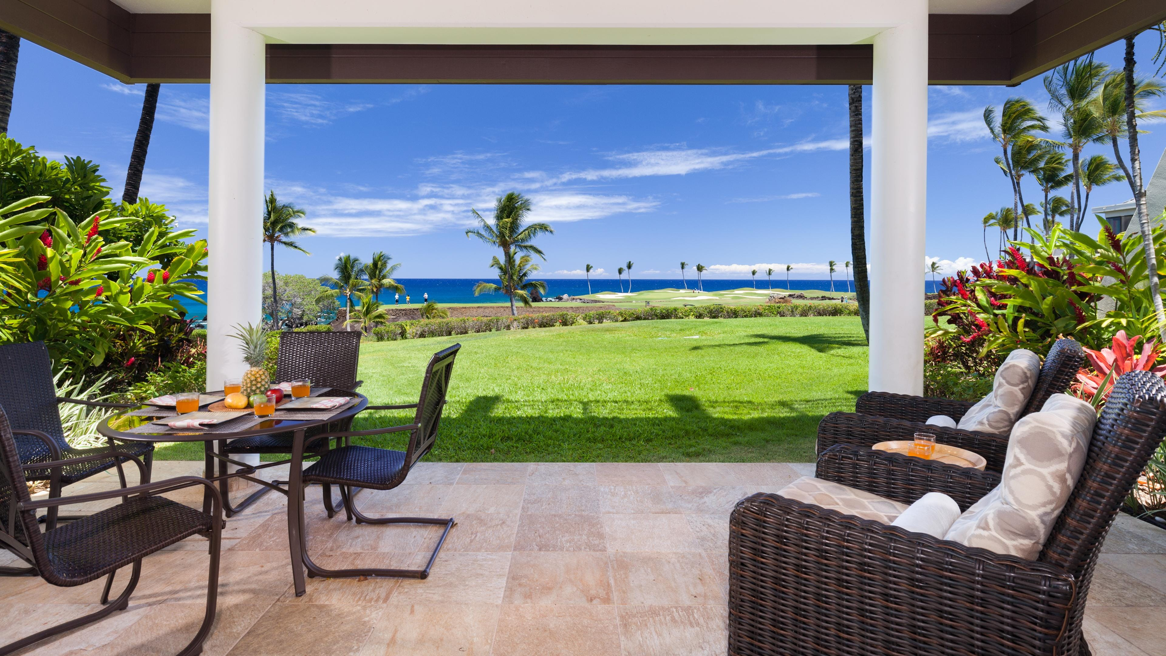 Welcome to Coastal Dreams Villa - This is the view from the lanai