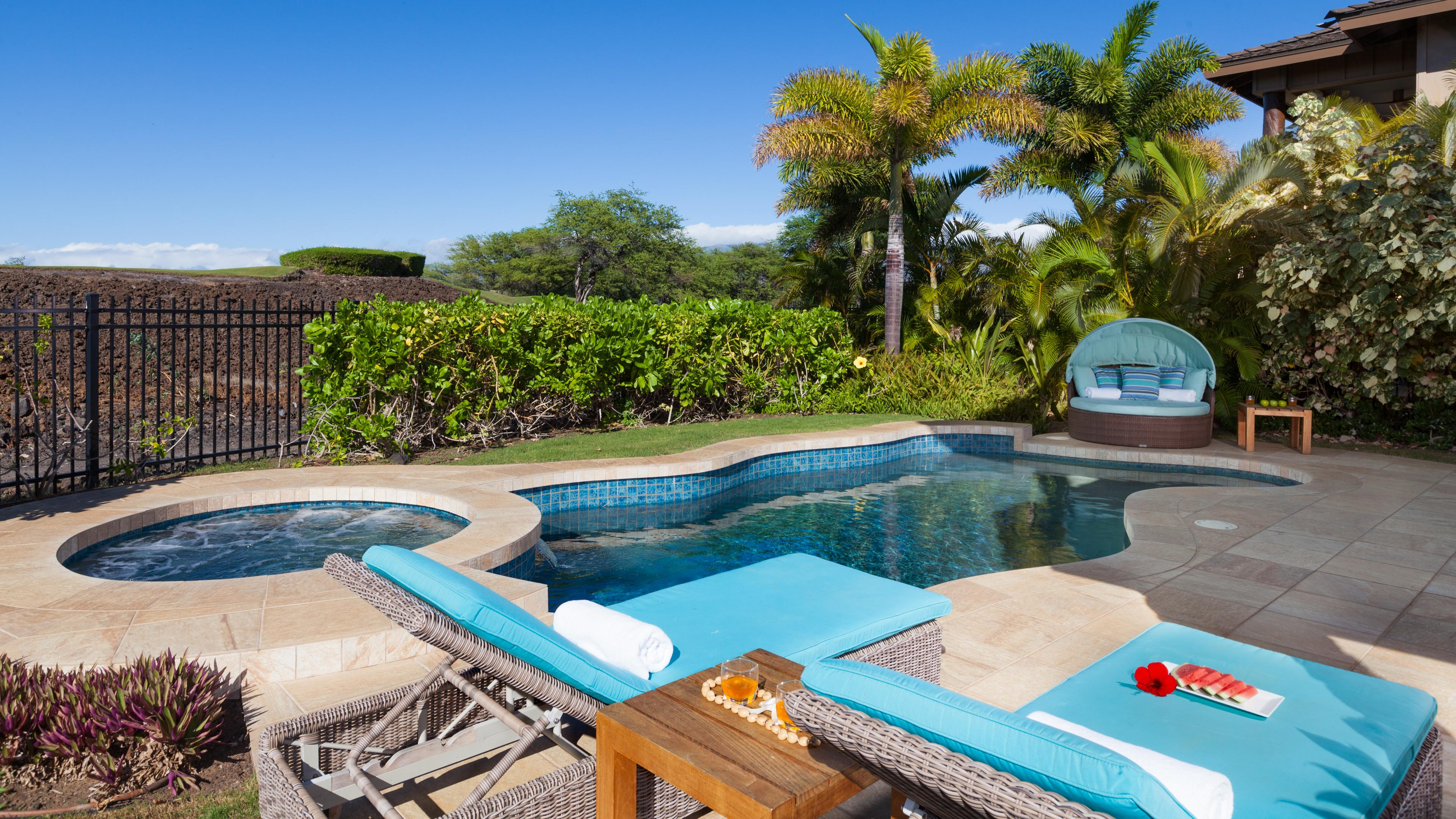 Your backyard Oasis - heated pool and spa