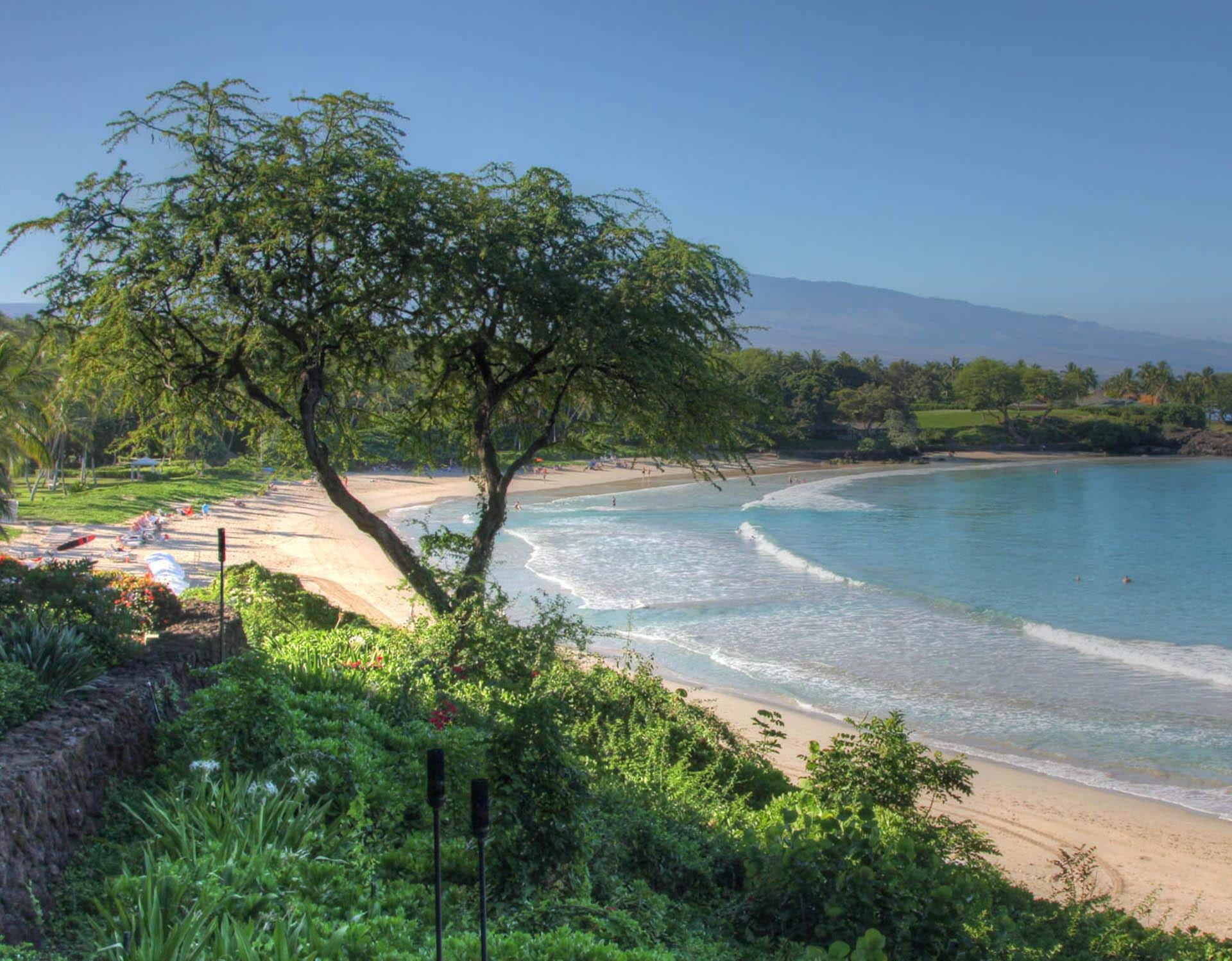 Stunning Mauna Kea Beach is nearby