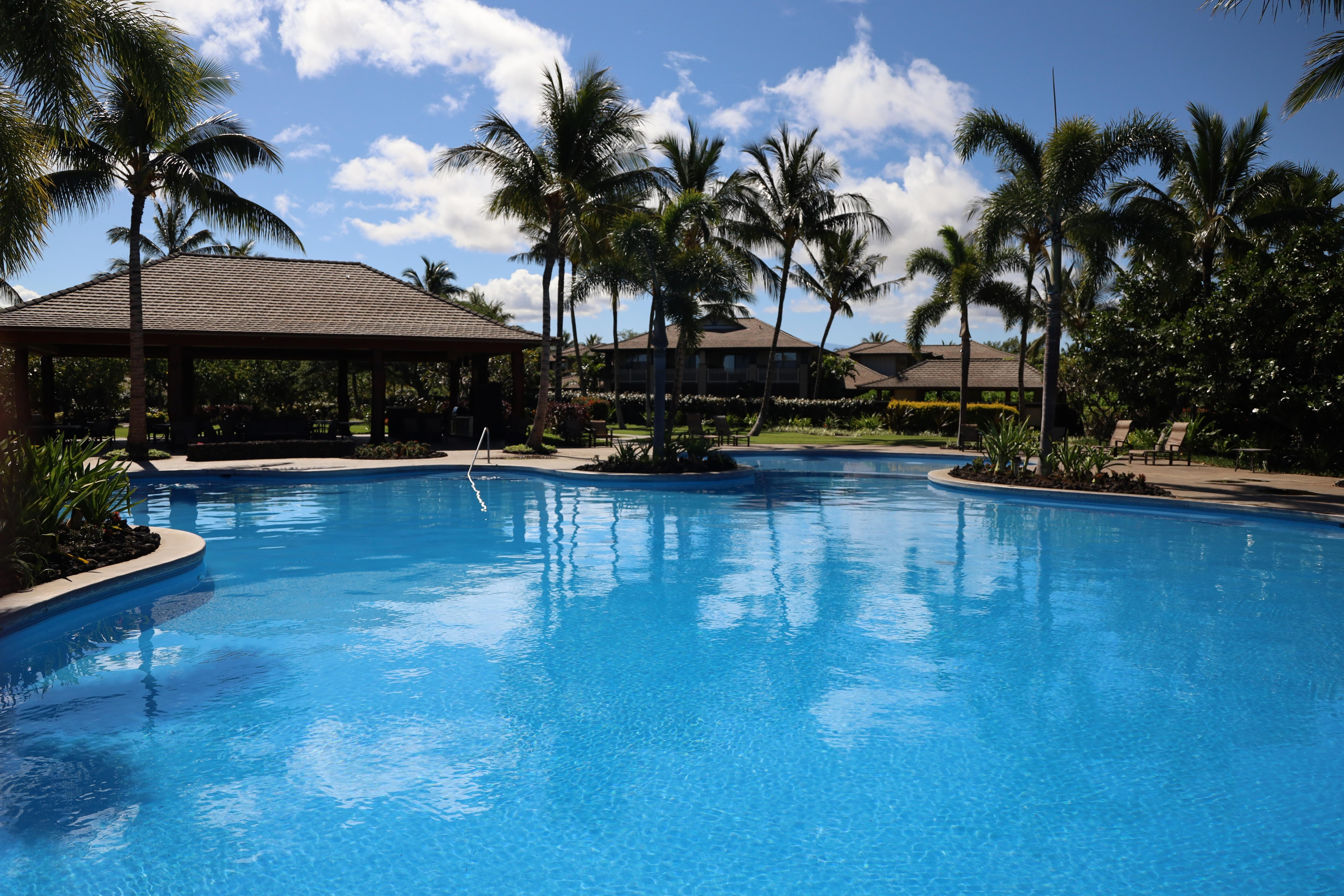 Large Ohana family lagoon pool at the Kulalani recreation center (one of two pools) - access included