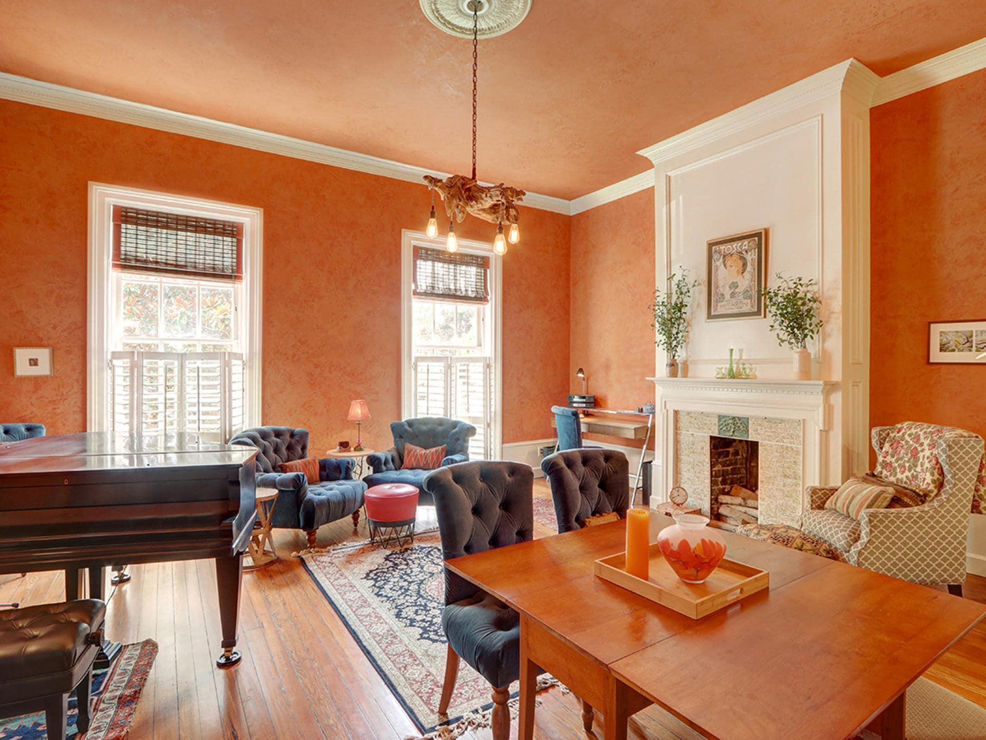 Upscale Home in Savannah Historic District