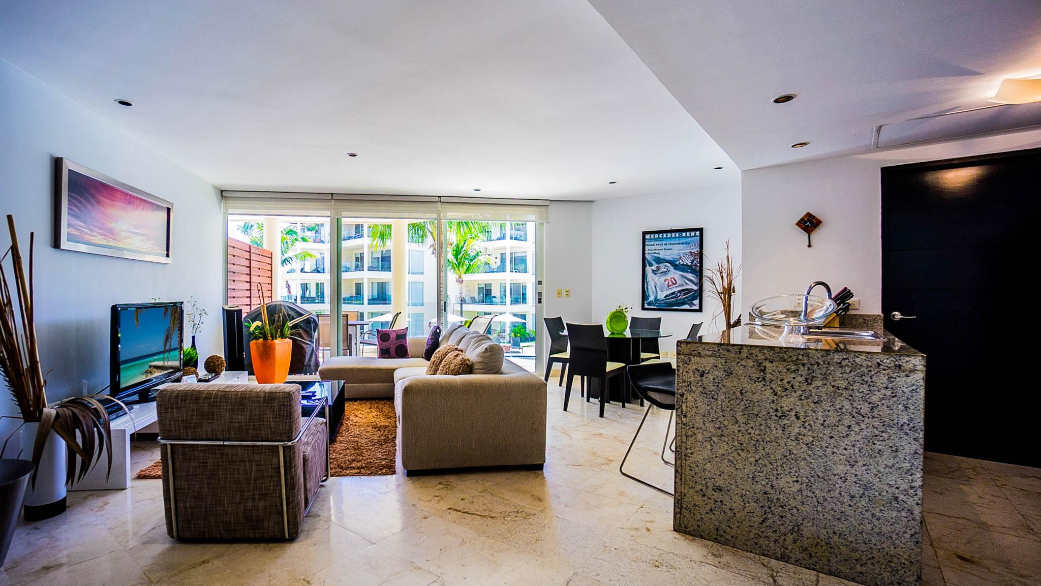 Perfect Ocean and Beach Views from this Second Story Condominium