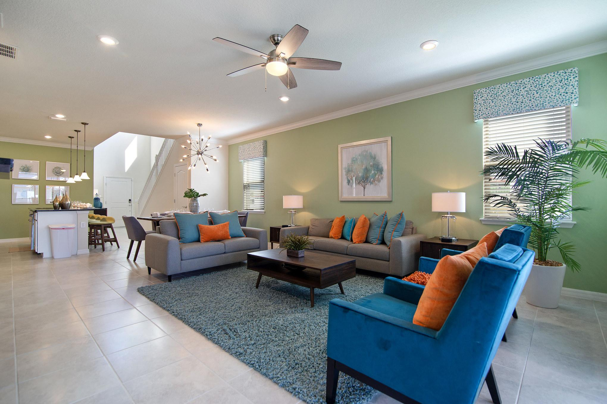 Property Image 2 - Richly-Colored Vacation Home near Disney
