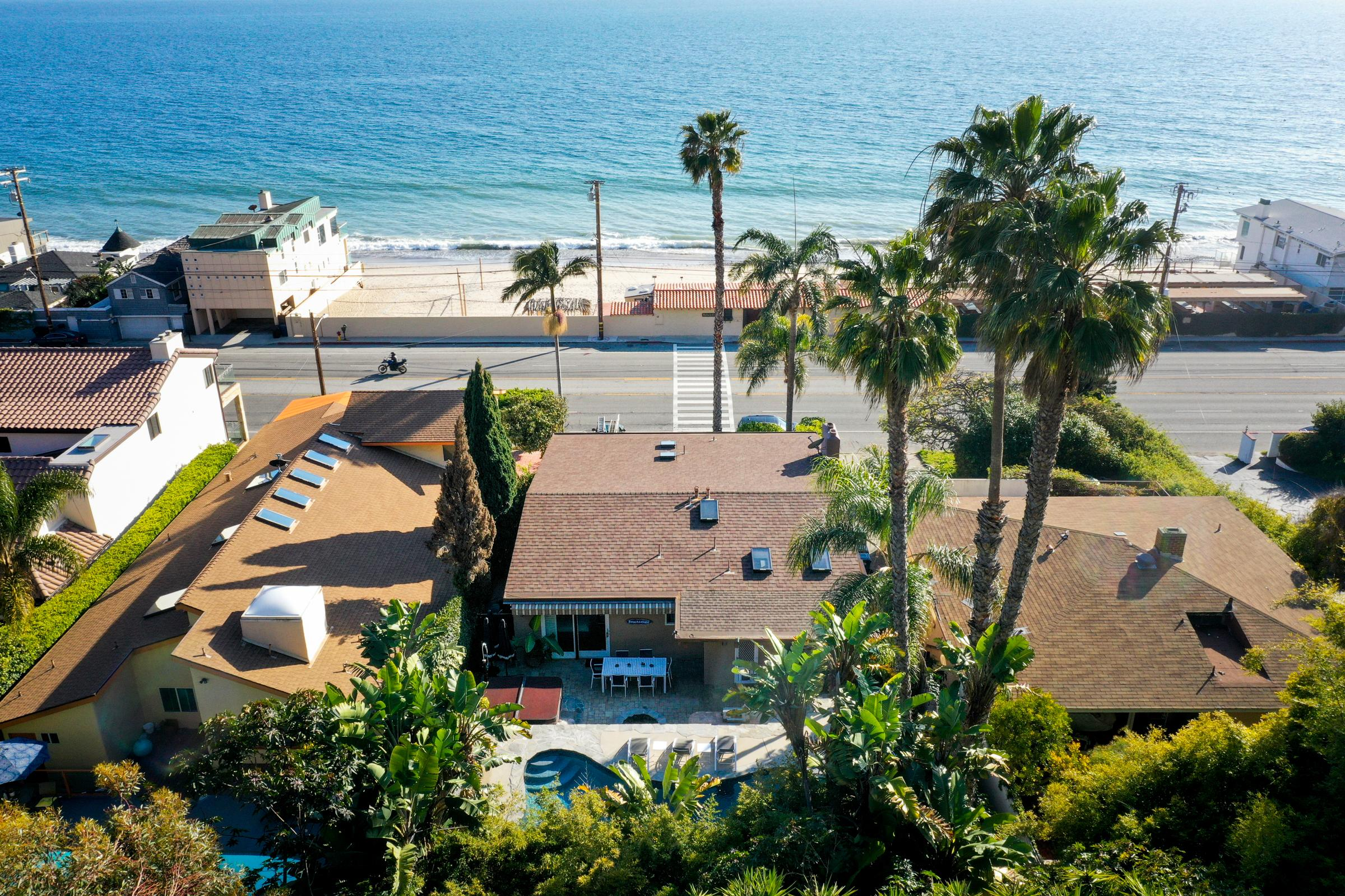 Classic PCH Home with Stunning Ocean Views and Pool