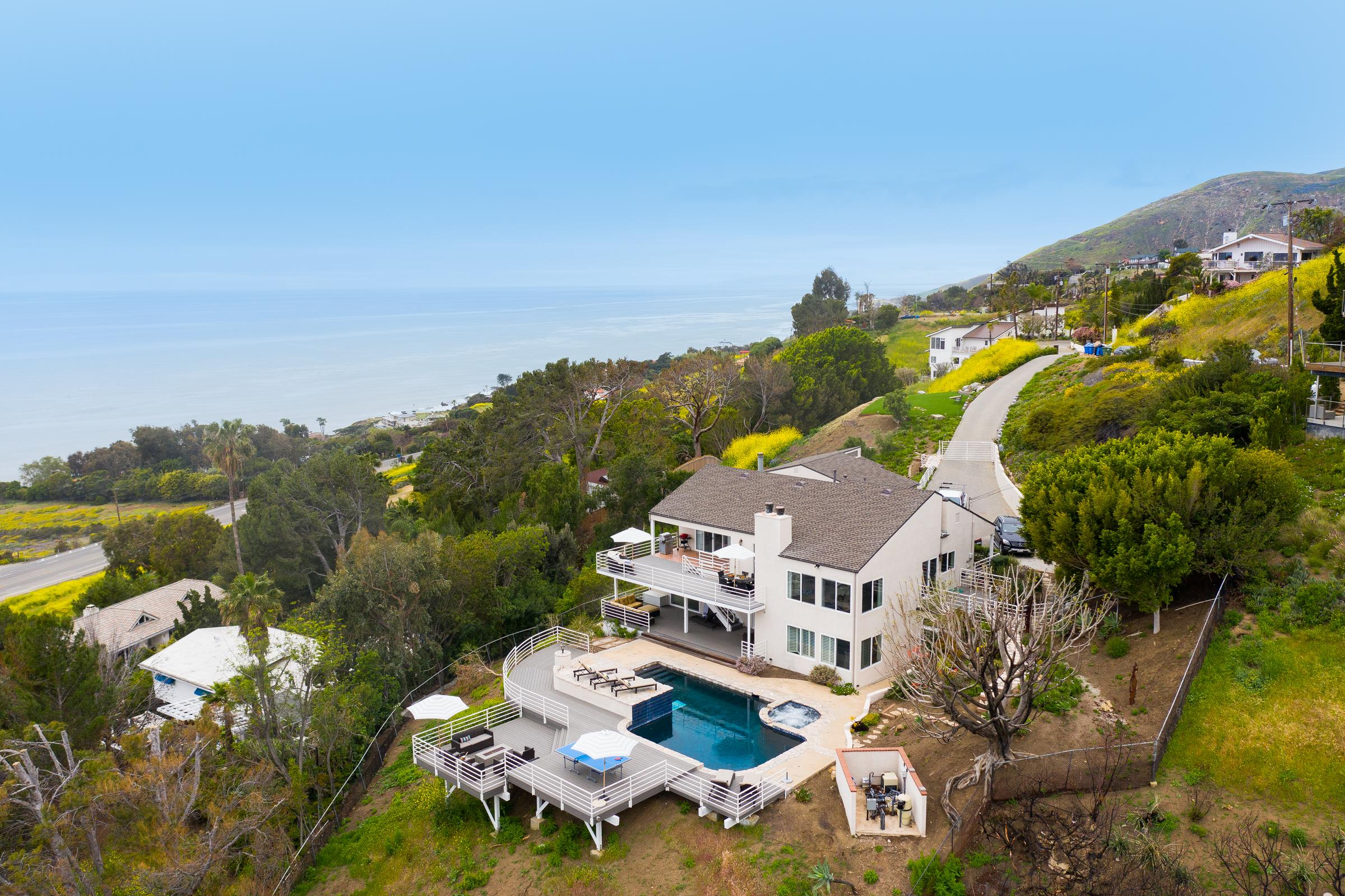 Sea Star | Gold Medal Olympian's Malibu Estate | Pool, Spa & Views