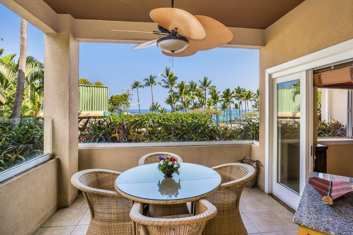 "Welcome to  ""Paradise Beach Villa"" with its covered lanai overlooking the beach and ocean"