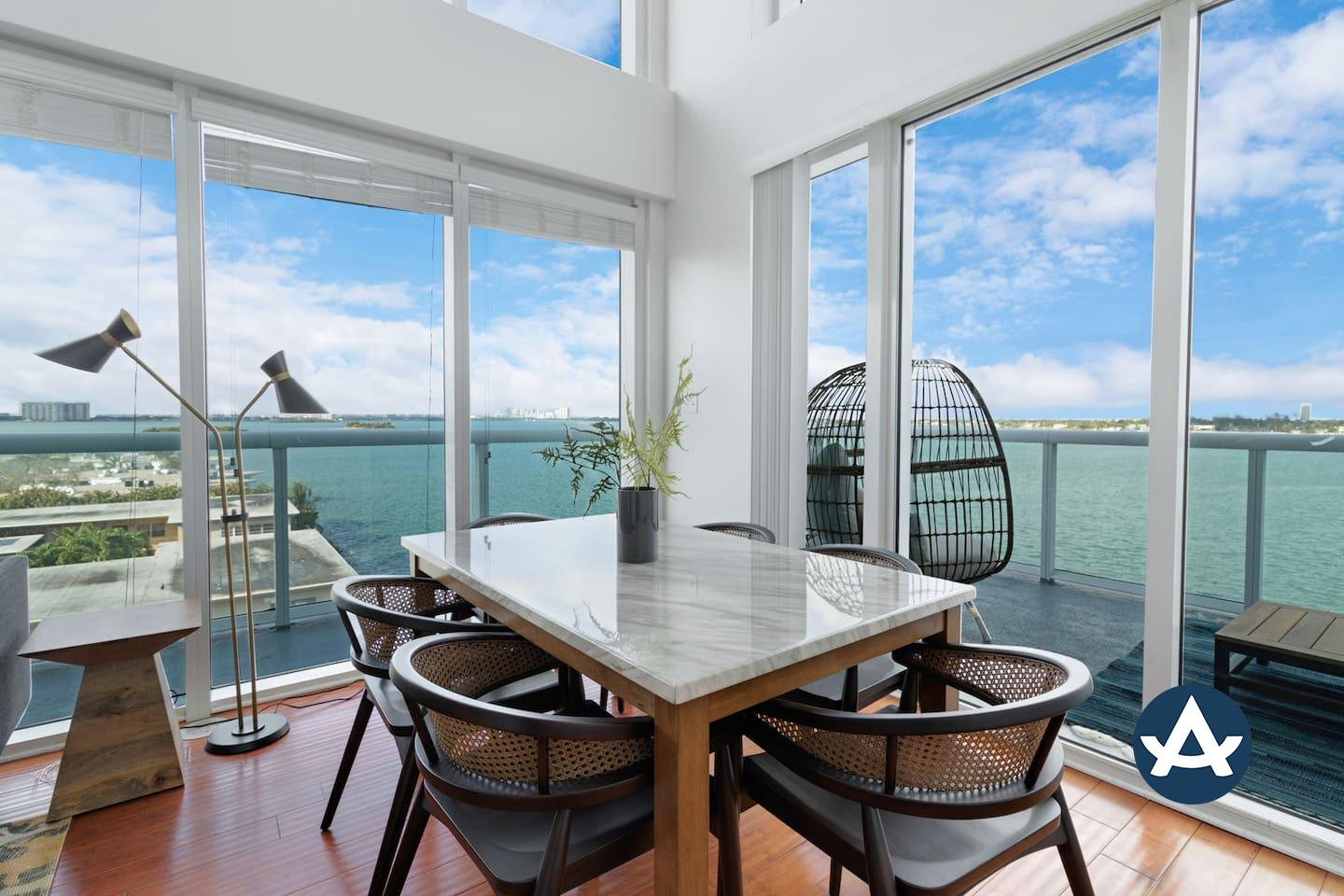 Welcome to Sextant's 2-Story Waterfront Condo!
