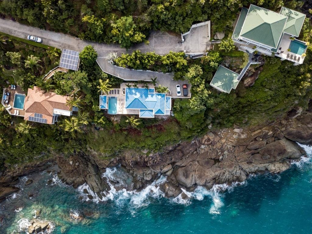 Property Image 2 - Secluded cliffside villa along the island's northern edge