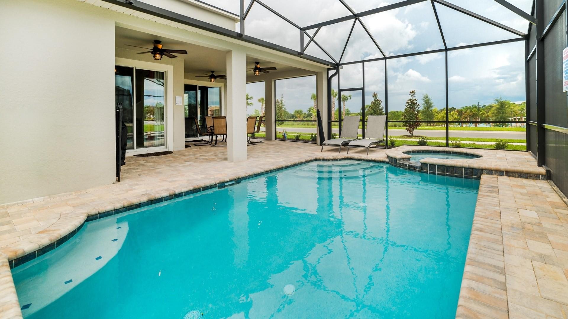 Property Image 2 - Spacious Home With Private Pool Across From Clubhouse