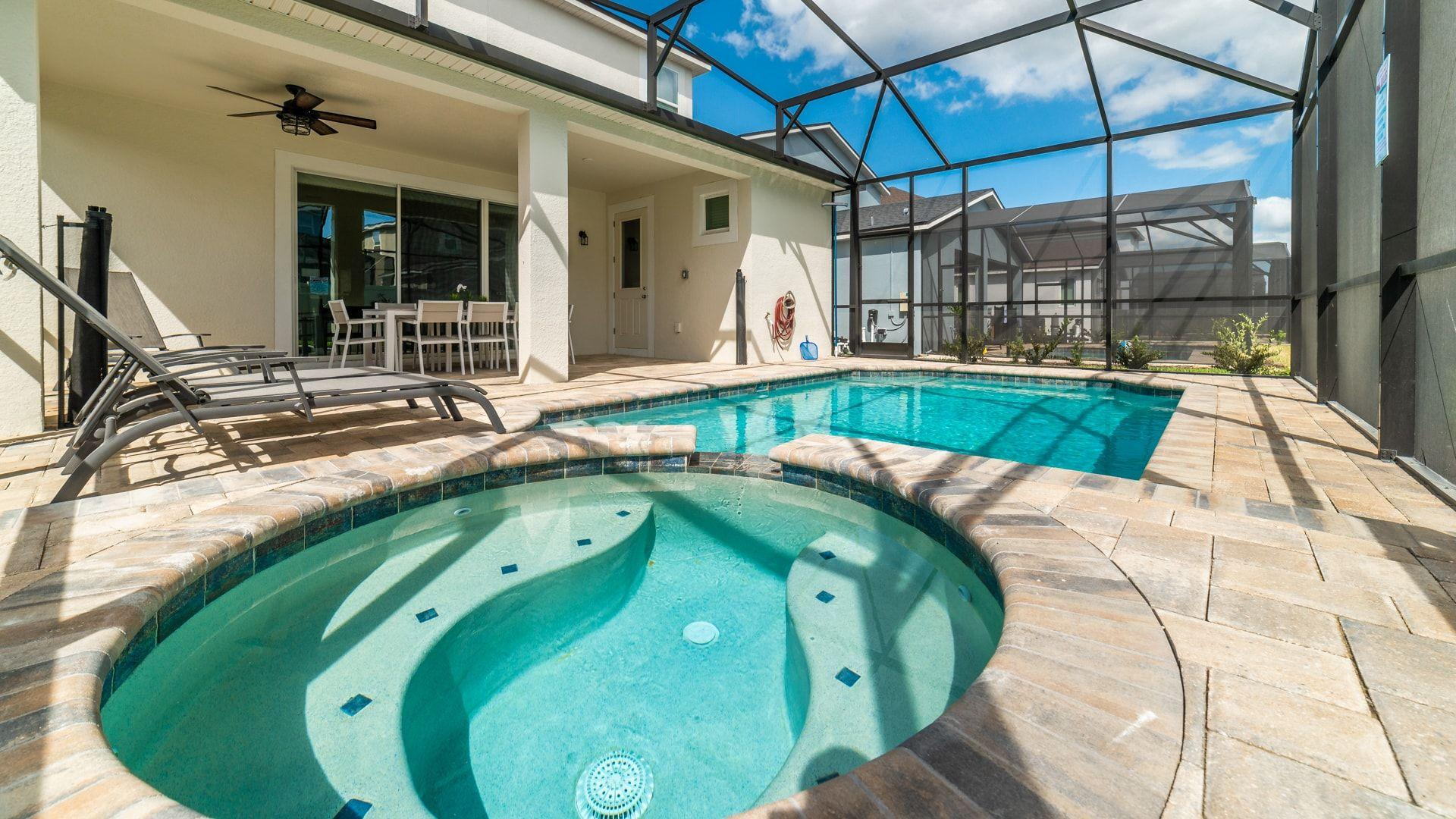 Property Image 1 - Solara Sunshine With Private Pool Spa Near Theme Parks