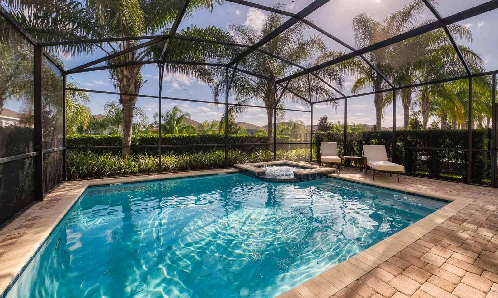 Property Image 1 - Bright, Open Home with Screened Pool, Hot Tub & Disney Shuttle