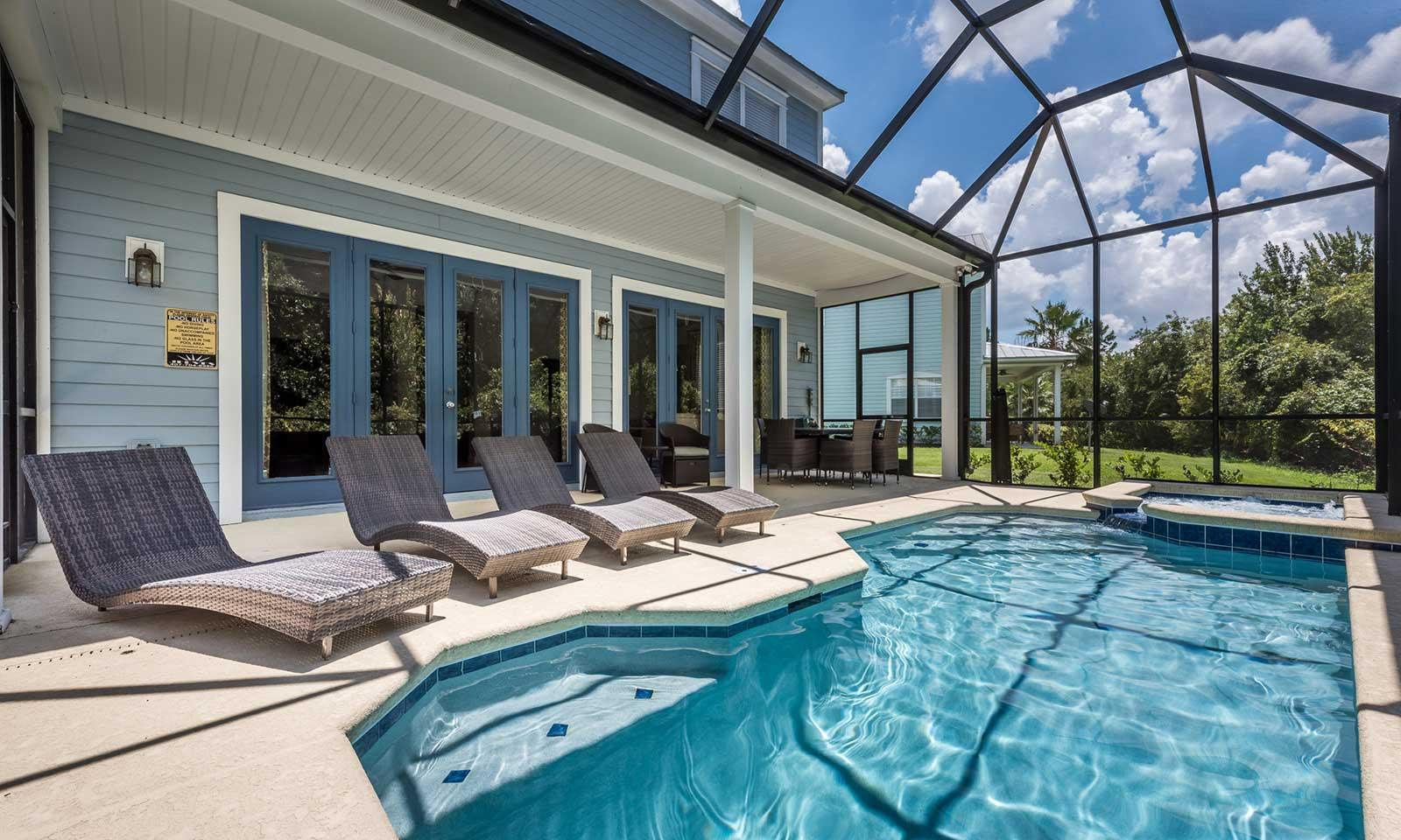 Property Image 1 - Timeless Oasis with Screened In Pool at Reunion