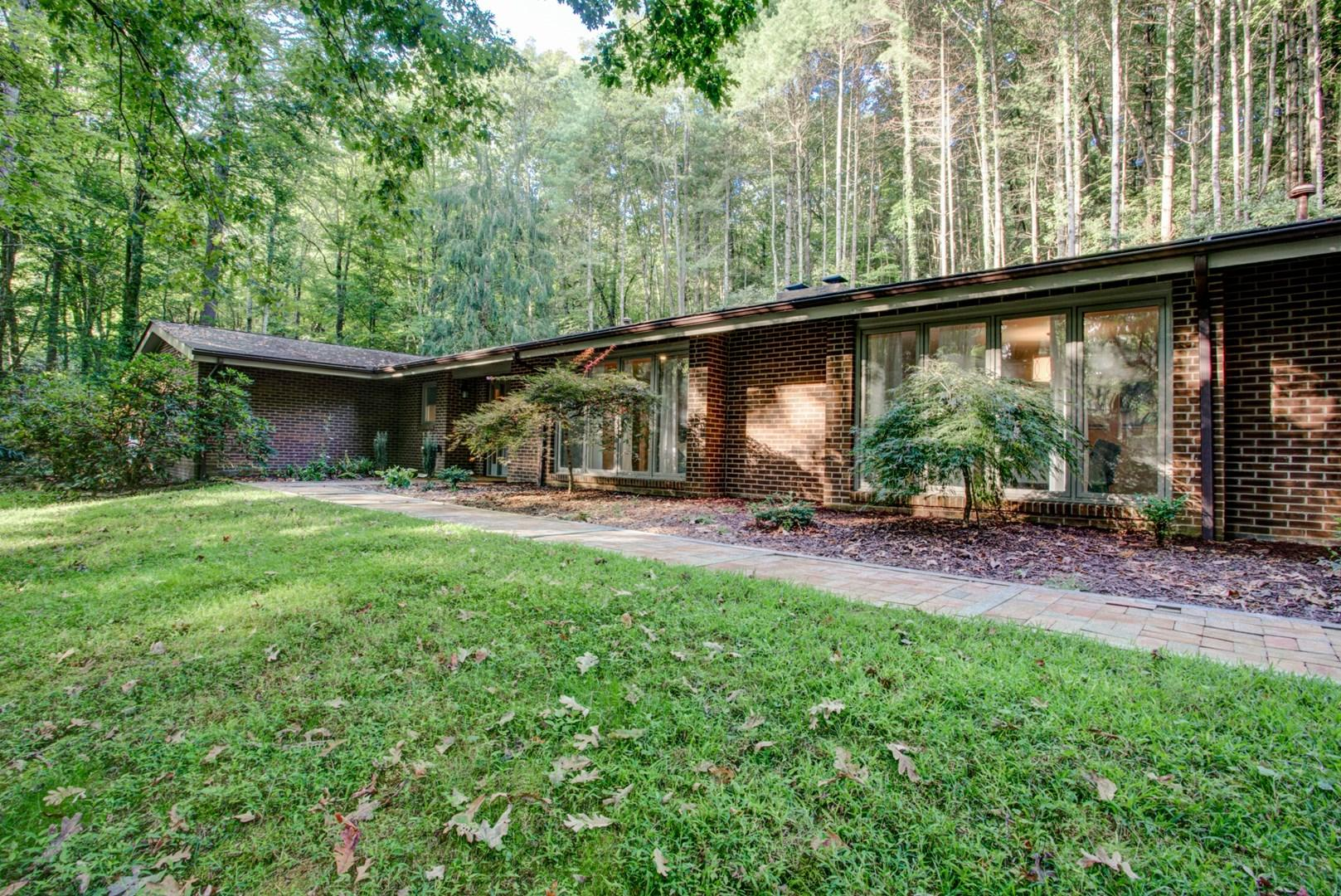 Property Image 1 - Spacious Ranch Style Home tucked in Pisgah Forest