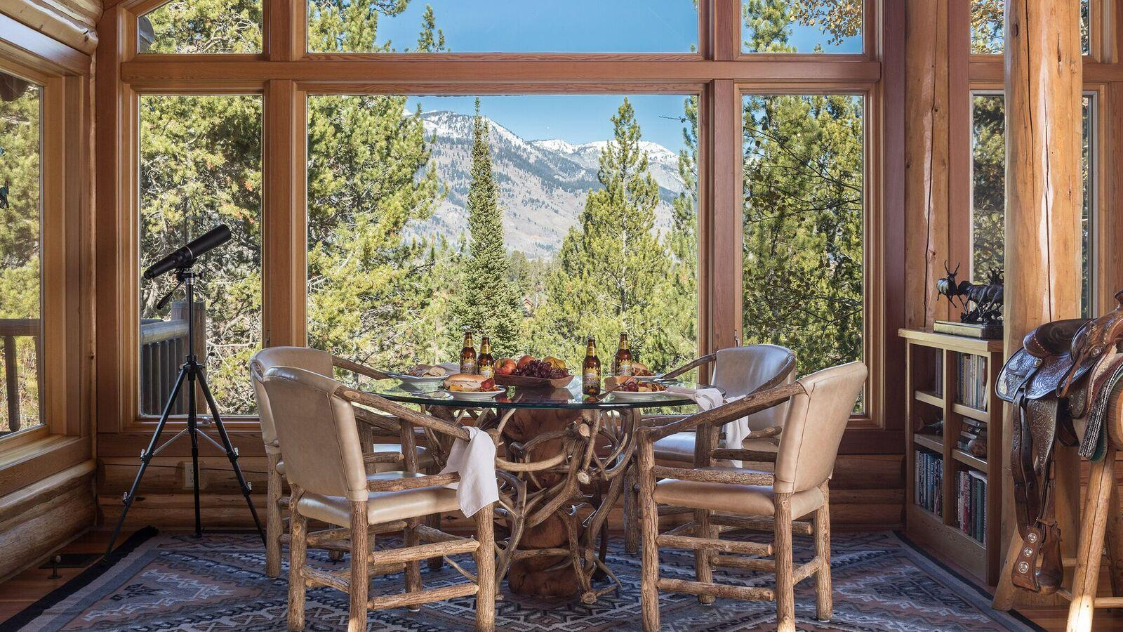 Property Image 1 - Secluded Cabin in the Woods with Views of the Teton Range