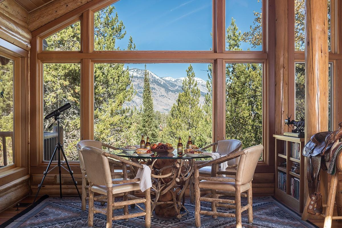 Property Image 2 - Secluded Cabin in the Woods with Views of the Teton Range