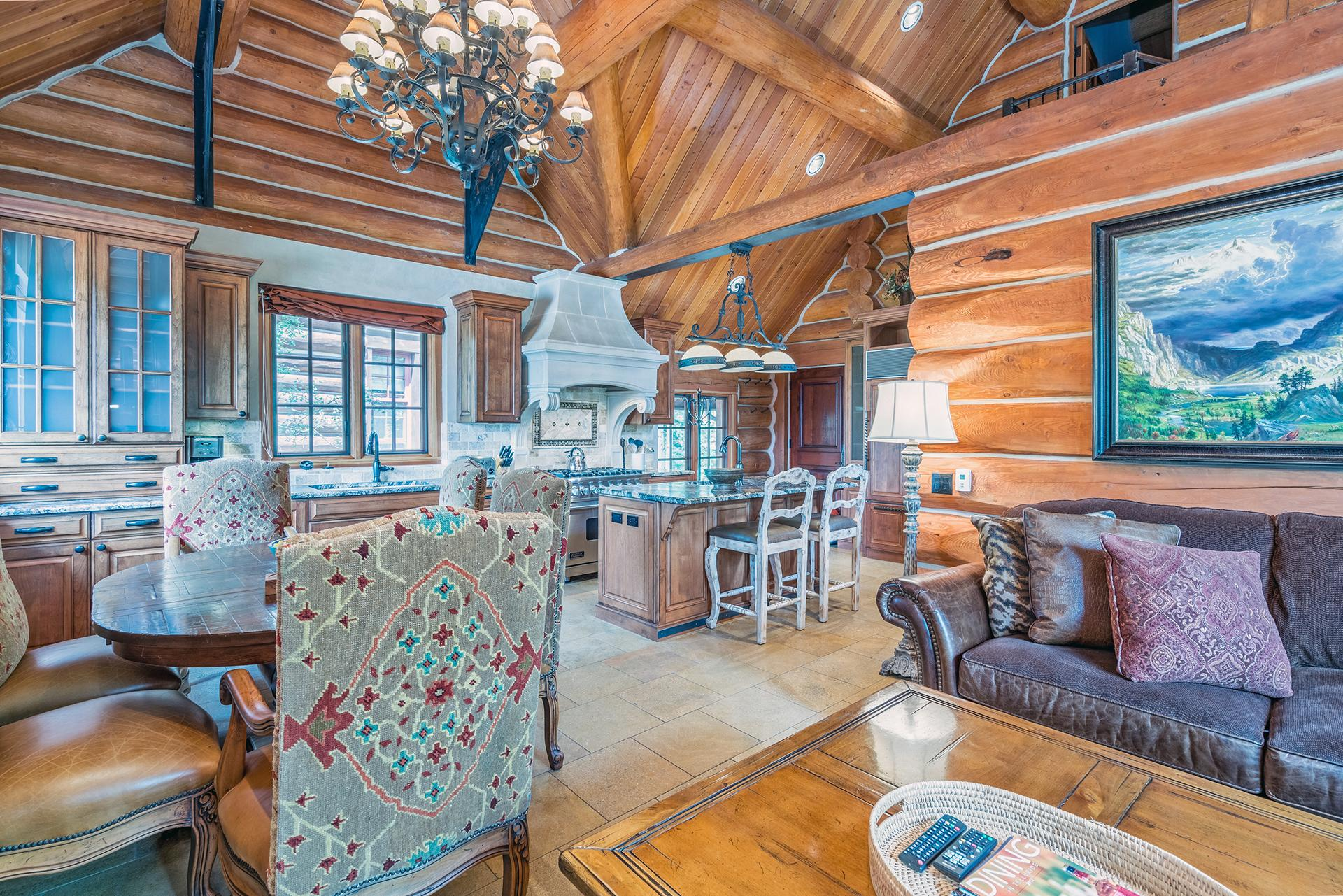 Property Image 1 - Luxurious, Open Concept Log Cabin with High-End Finishes