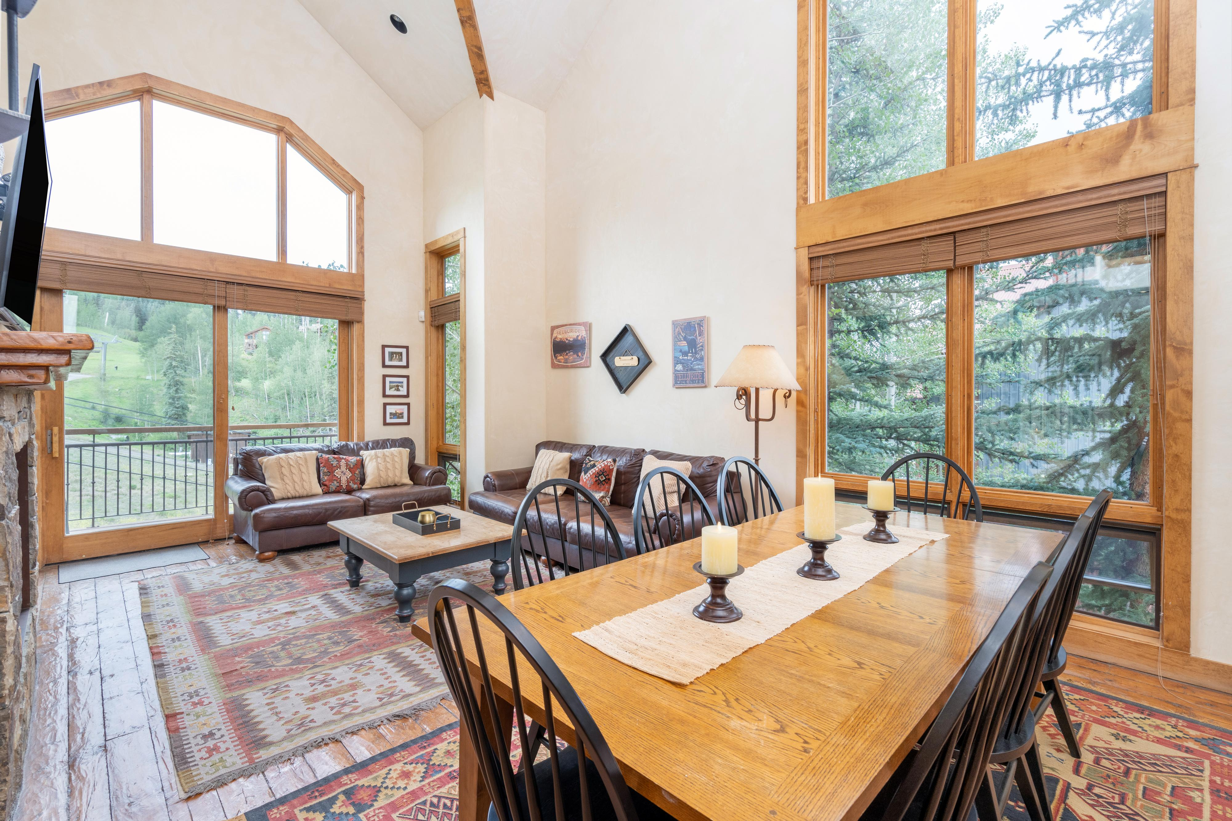 Mountain Condo with Incredibly Easy Ski-in Ski-out Access