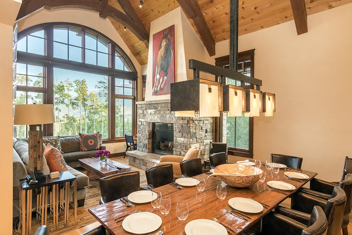 Idyllic Slopeside Home With Movie Theatre and Views