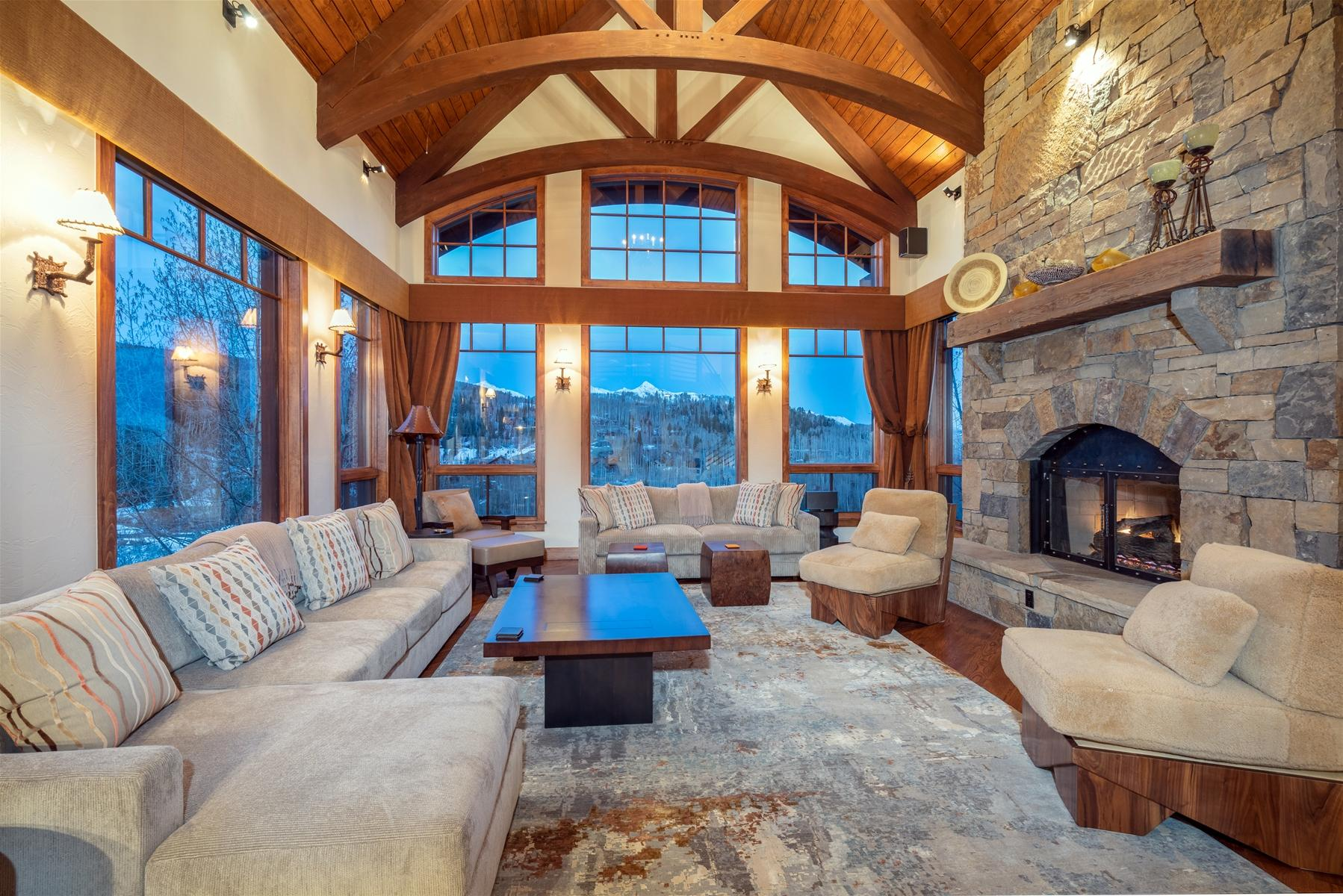 Mountain Home with Scenic Views and Gorgeous Interiors