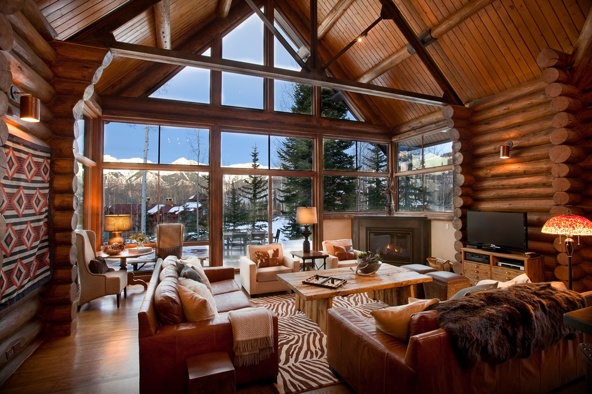 Elevated Luxury Estate with Slopeside Views and Access