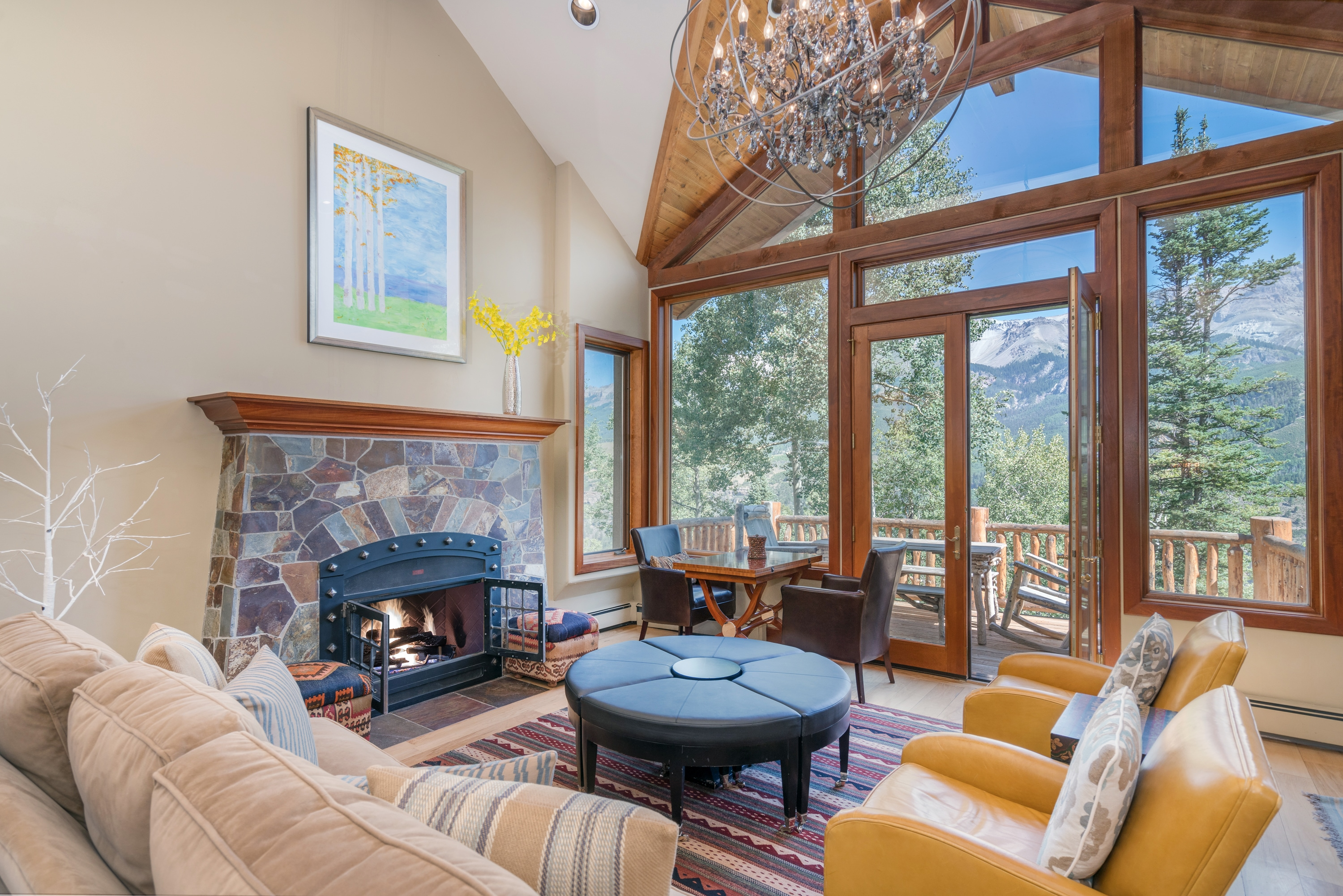 Secluded Mountain Home with 2 Ski Passes Included