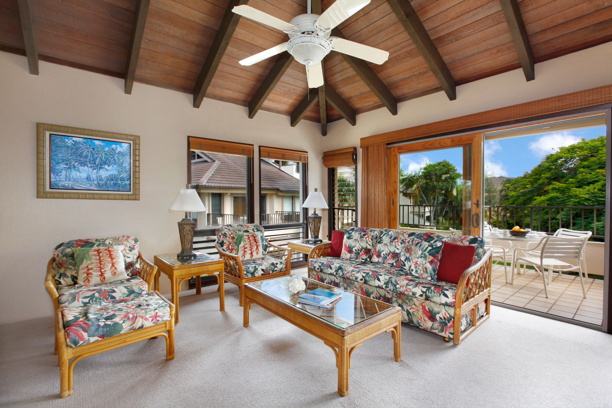Well Appointed Hawaiian Getaway within a Short Walk to Top Kauai Beaches