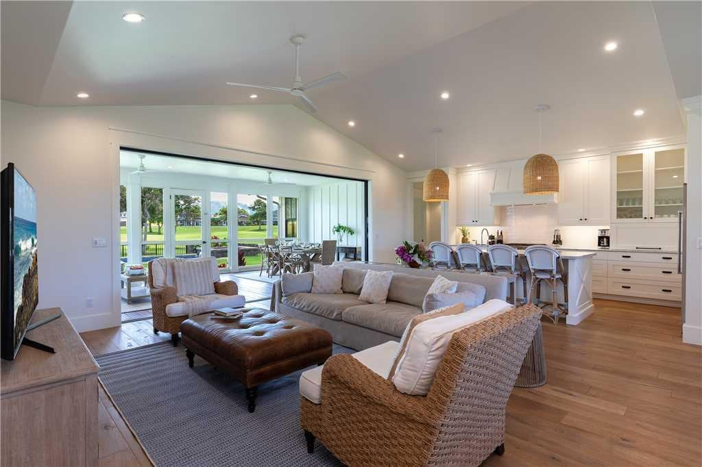 Luxurious Poipu Home Perfectly Situated Well Known Golf Courses