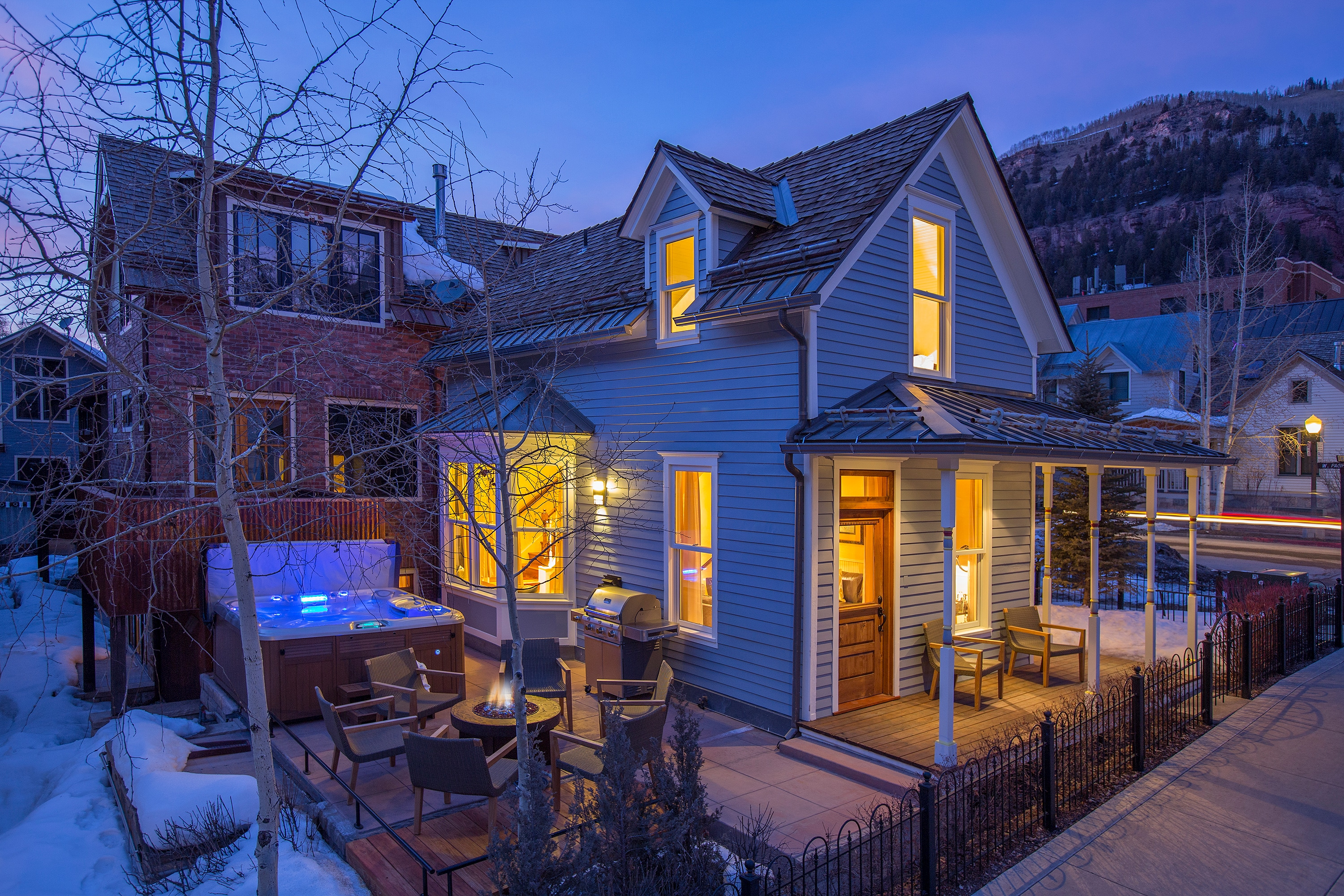Polished Perfection in the Heart of Telluride, Hot Tub