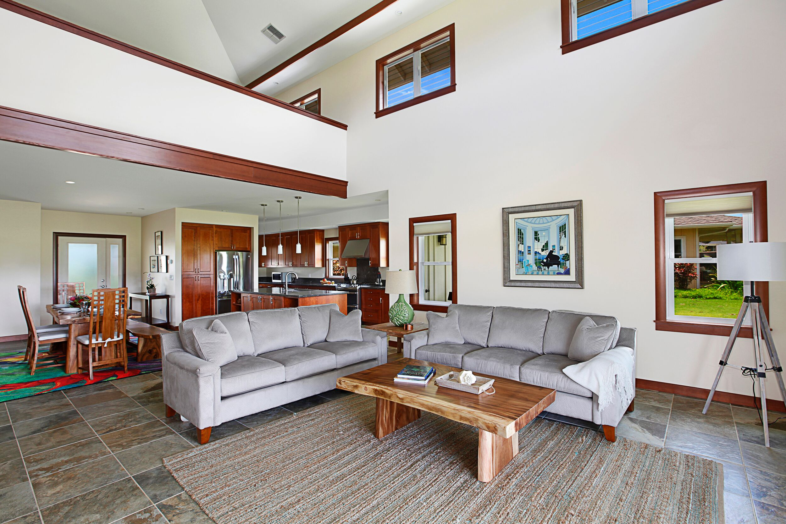 Spacious Poipu Home with Spetacular Golf Course and Mountain Views