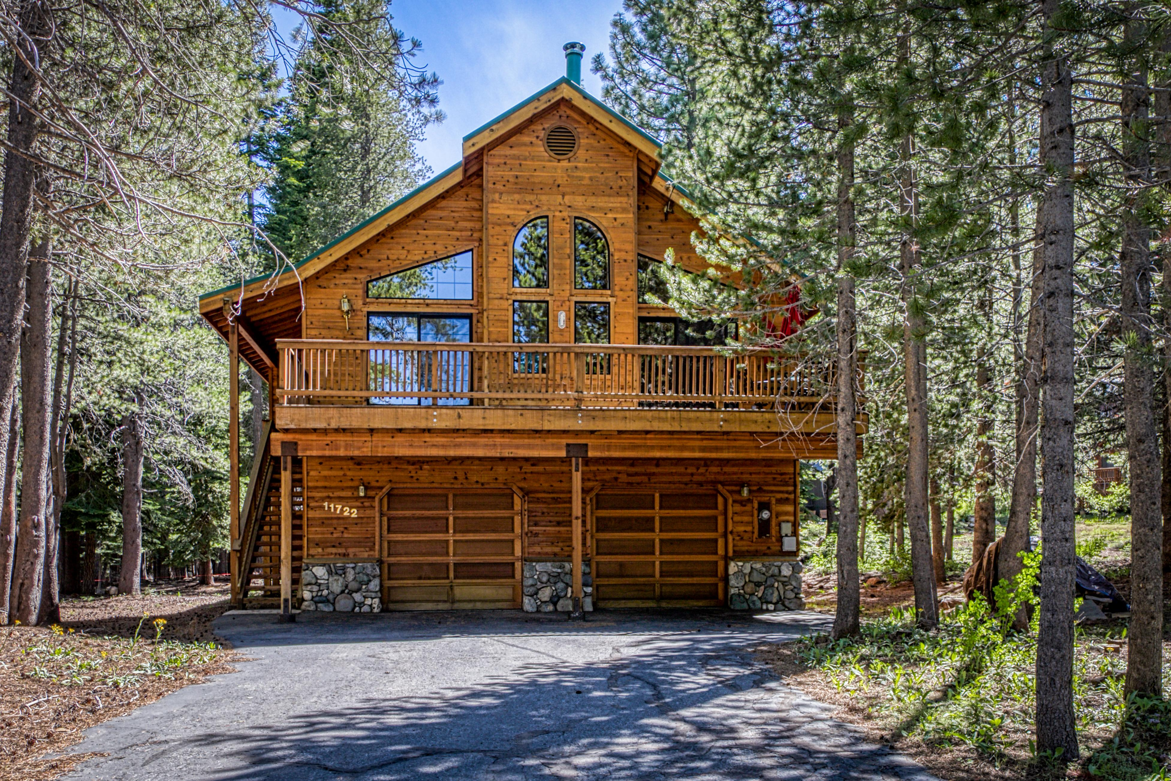 Property Image 1 - Tranquil and Snug Tahoe Donner Cabin with Pool Table