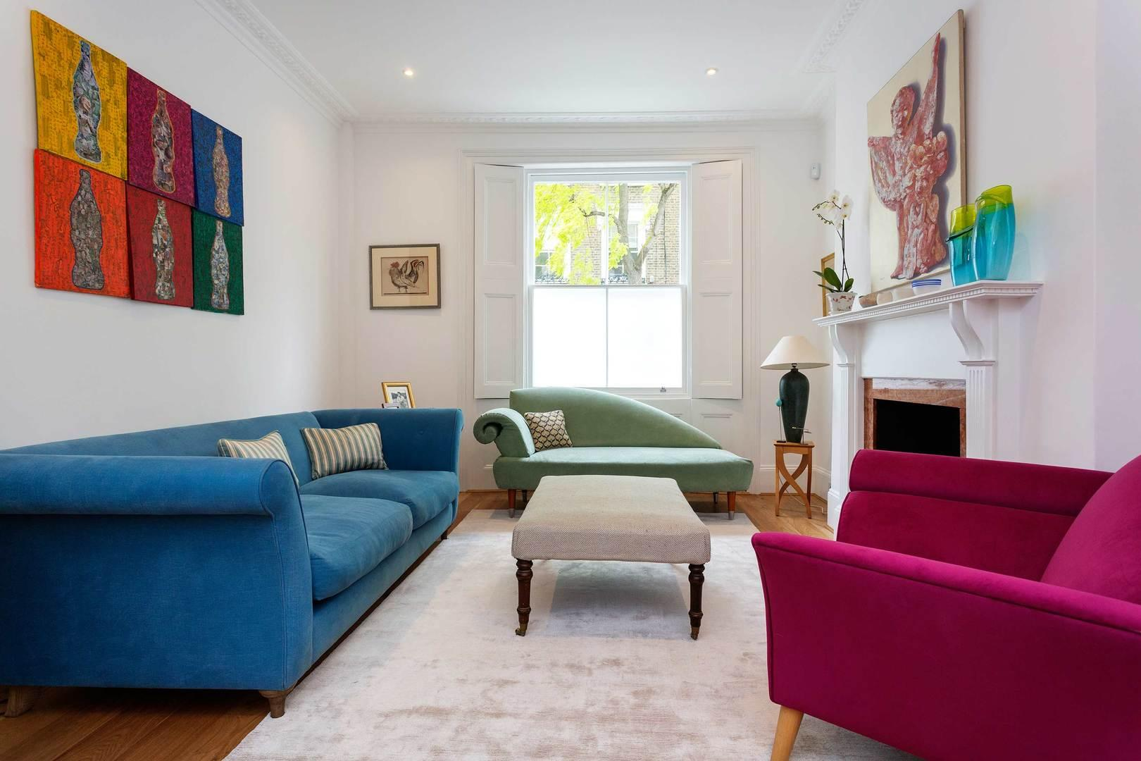 Property Image 1 - Classic 4 bedroom Upscale Family House in Primrose Hill