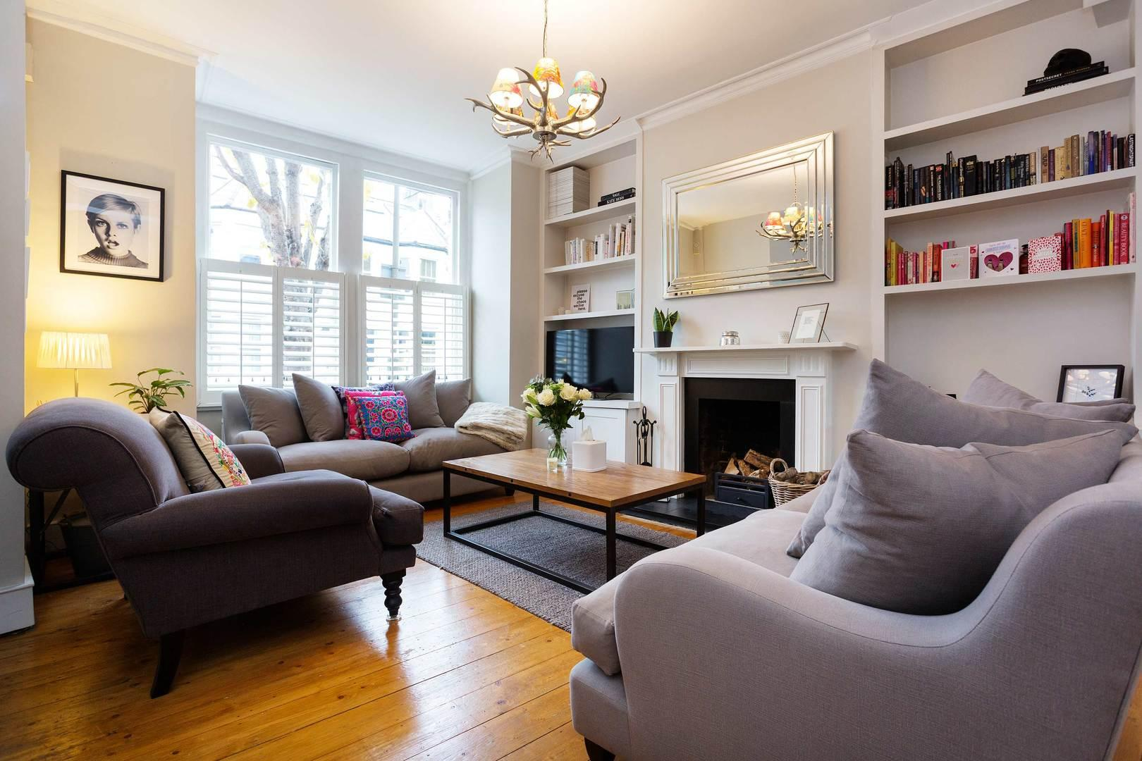 Property Image 1 - Elegant Wandsworth House with Garden, near Leafy Park