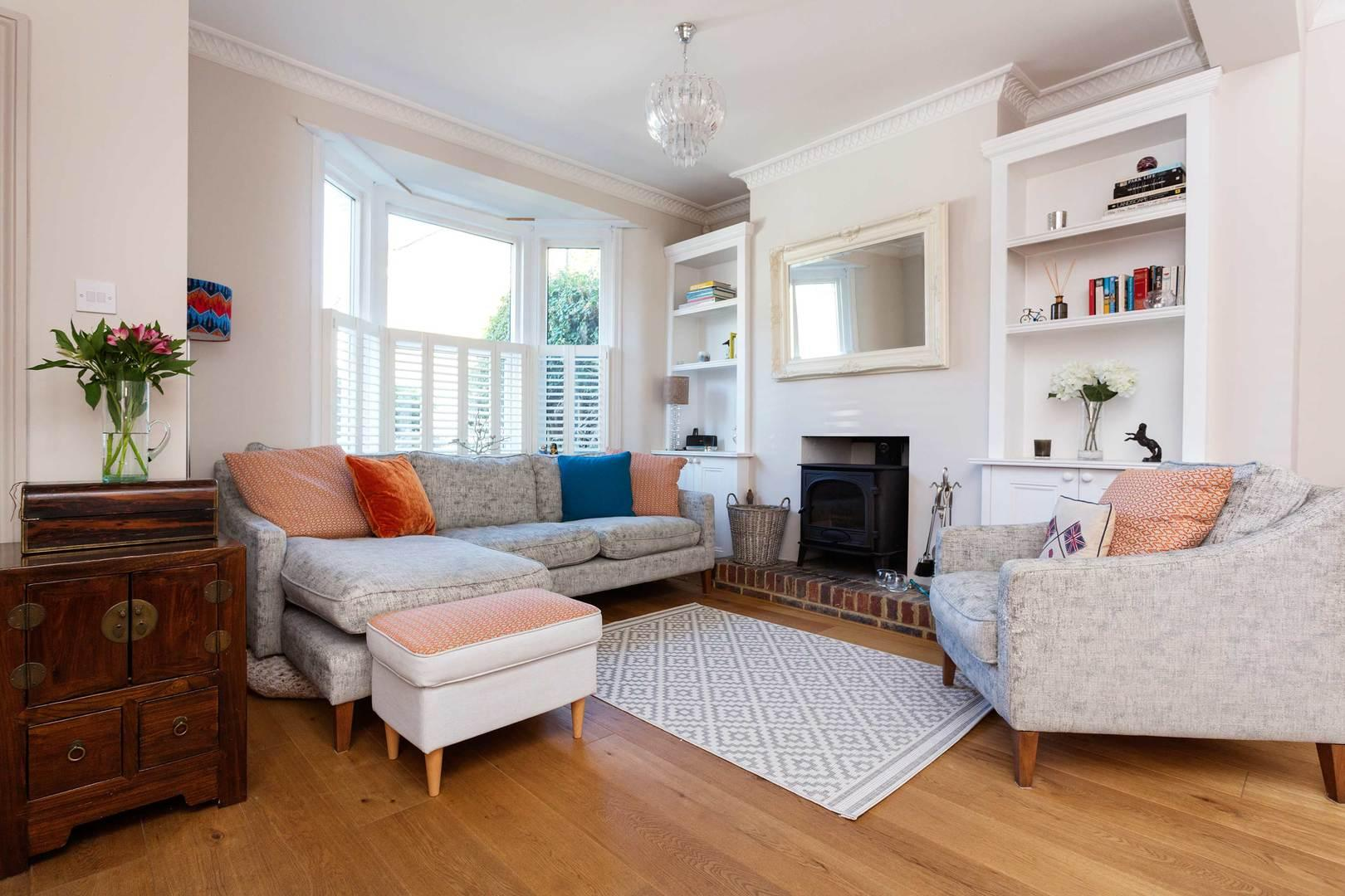 Property Image 1 - Attractive Vintage-Style Wandsworth Home with Garden