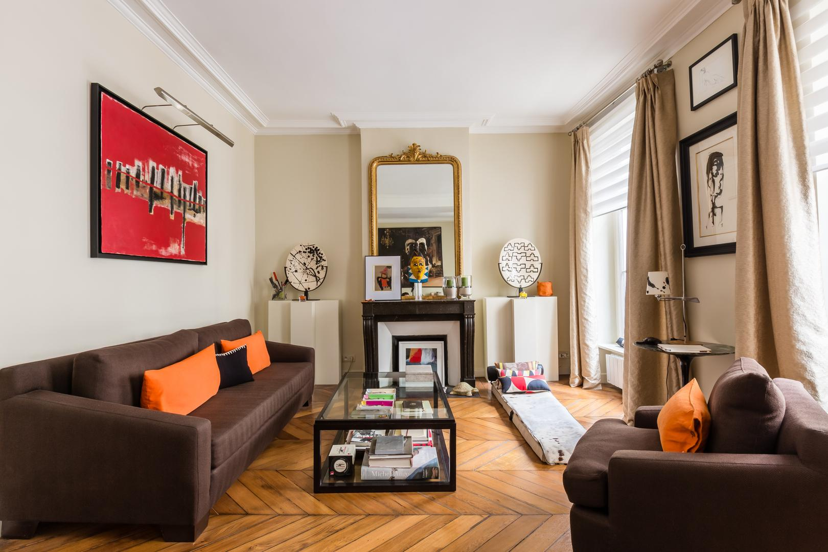 Property Image 1 - Chic Apartment with Artwork by Pont Neuf