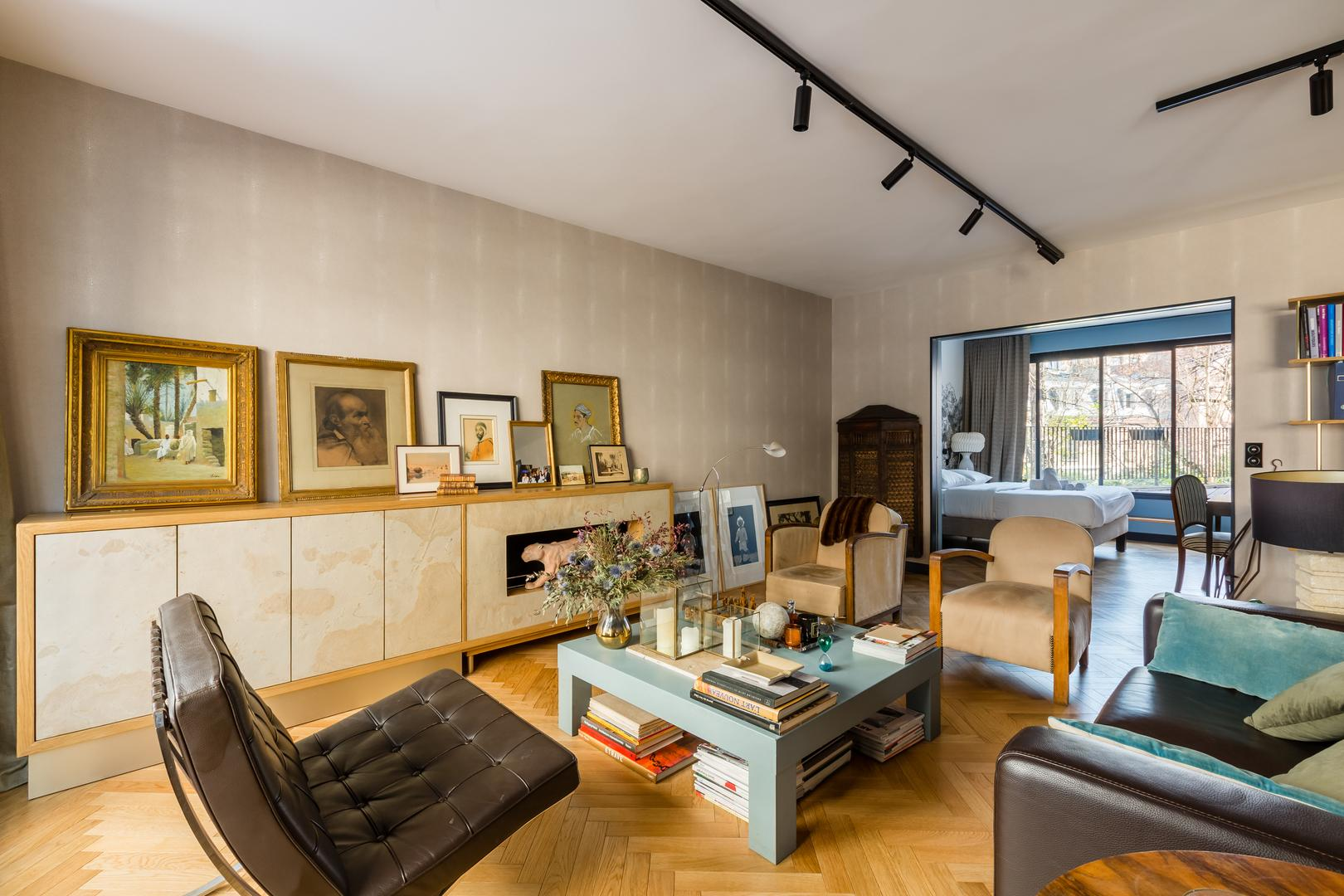 Property Image 1 - Classy Vintage Apartment with Secluded Balcony Access