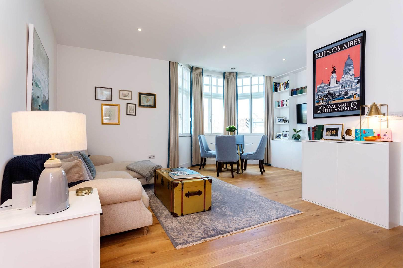 Property Image 1 - Stylish Apartment with Garden Access near Notting Hill