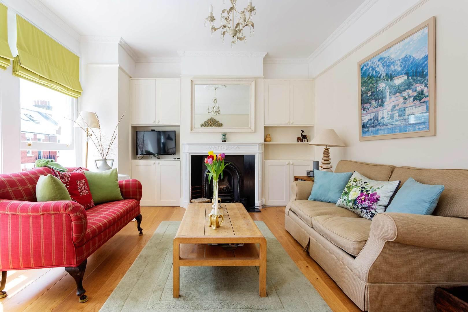 Property Image 1 - Attractive Spacious Fulham Apartment Near the River