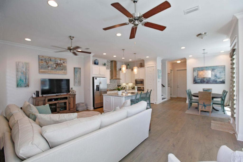 Alluring 3BR Vacation Rental on 30A with Golf Cart